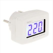 Medidor De Tensão Dm55-1 Lcd Digital Ac Voltímetro