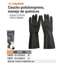 Guantes Para Manejo De Quimicos Medianos