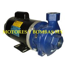 Bomba Para Agua 1hp Weg Cabezal Corona, La Mejor Del Mercado