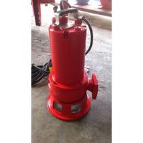 Bomba Sumergible Trituradora Inds 1.5hp Agua Sucia,residuos