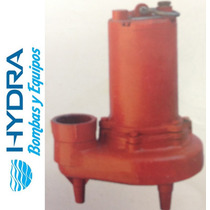 Bomba Sumergible Para Agua Sucia Trifásica 1 Hp