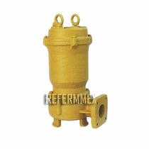Bomba Sumergible 2 Hp 220 V Para Lodos Agua Sucia Garantia