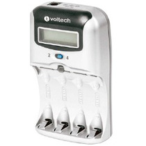 Oferta Cargador De Pilas Aa Y Aaa Rapido Voltech Bateria