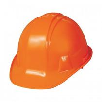 Casco De Plástico Color Naranja Infra