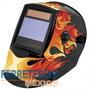 Careta Soldar Electronica Diseño: Fuego Truper 17457