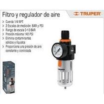 Filtro Y Regulador De Aire Truper 18238