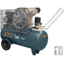 Oferta Compresor Lubricado De Banda 60 L Voltaje Dual Truper