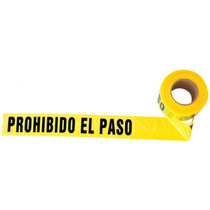 Cintas Barricada Prohibido El Paso