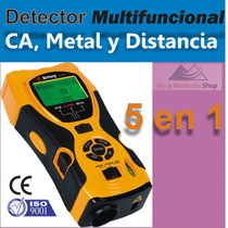 Distanciometro Laser Y Detector De Cables Electricos Y Metal