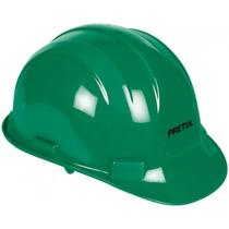 Casco De Seguridad Con Ajuste De Banda Verde Pretul 25045