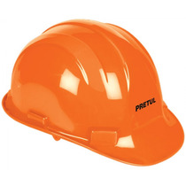 Casco De Seguridad Con Ajuste De Banda Naranja Pretul 25036
