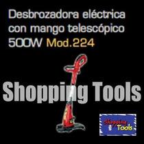 Desbrozadora Electrica 500w Podadora Pasto Adir 224 Vv4