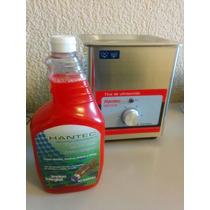 Tina Limpieza 2 Litros Con Liquido 40 Khz 50w (ultrasonico)