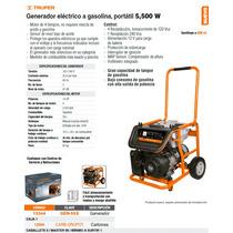 Generador Electrico A Gasolina 5500 W