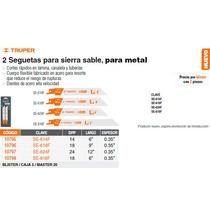 Segueta Sierra Sable 14 Dpp /6