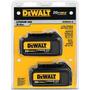 Set De Baterias (2 Pcs) Dewalt Dcb200-2 3ah 20v Envio Gratis