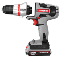 Craftsman Bolt-on Taladro/destornillador Recargable 20 V