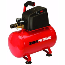 Compresor De Aire Sin Aceite 3 Gal 1/3 Hp Central Pneumatic