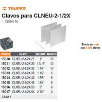 Clavos Para Clavadora Neumatica Clneu-2-1/2x 32mm