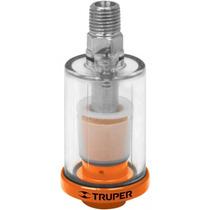Filtro Para Compresor De Aire Cuerda 1/4 Npt Truper 19027