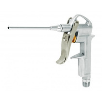 Pistola Metálica Para Sopletear, Con Extensión De 4