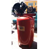 Compresor De 10 Hp Motor De 7.5 Hp Trifasico Tanque 500 Lts