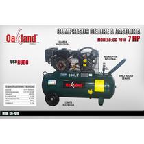 Compresor A Gasolina 7 Hp 100 Lts Oakland Hsdemexico