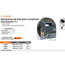 Manguera Para Compresor Alta Presion Entrada 3/8 10m