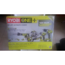 Tb Ryobi 18-volt One+ Lithium-ion Ultimate Combo Power Tool