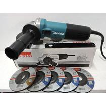 Mini Esmeriladora Para Uso Rudo De 4 1/2 Makita 9557hngx2
