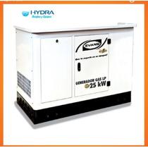 Generador Monofásico, De 25,000 W Con Motor Thunder 50 Hp
