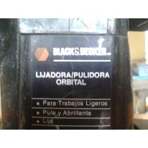 Remato Lijadora/pulidora Orbital Black & Decker