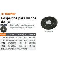 Respaldo Para Discos De Lija De 4 1/2 Mm