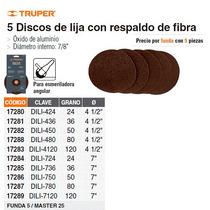 Disco De Lija 4 1/2 Grano 80