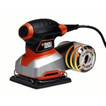 Lijadora De 1/4 De Hoja Black And Decker Qs1000