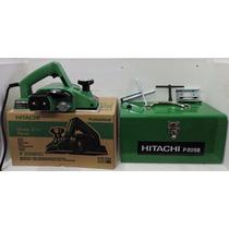 Cepillo Electrico Hitachi Con Estuche Caja De Metal