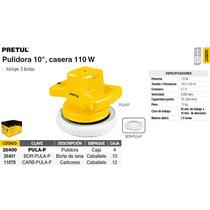 Pulidora De 10 Casera 110w Pretul (truper) 26400