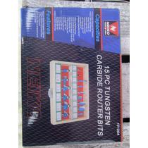 Juego Kit De 15 Brocas Para Router 1/4 Neiko Carburo