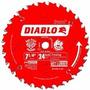 Disco Diablo Para Sierra De 7-1/4 Pulgadas De 24 Dientes