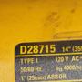 Cortador De Metales Usado Dewalt Mod. D28715 14