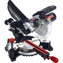 Sierra Inglete Craftsman 5000 Rpm Disco 7¼ Con Guia Laser