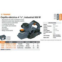 Cepillo Electrico 4 1/2 950 W Industrial