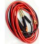 Cables 5 Mts. Para Soldar Calibre 8, Tenaza Y Portaelectrodo