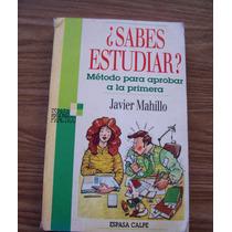 ¿sabes Estudiar?-ilust-guía Útil-javier Mahillo-espasa Calpe