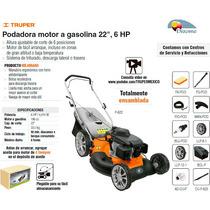 Podadora Motor A Gasolina 22 6 Hp Truper Dizome