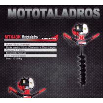 Mototaladro 43cc Nuevo Poderoso