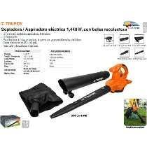 Sopladora Aspiradora Electrica Truper 1400w