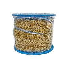 Cadena Bola Laton 2,4 Mm Y 100 M Gold Obi