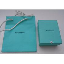 Cajita Original Tiffany & Co.c/ Bolsita Tela Y De Asa 305