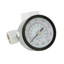 Regulador Aire Con Manómetro 160psi Surtek 108101
